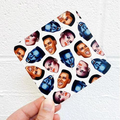 Grace Faces Coaster Homeware - Coasters Helen Green for We Built This City 2
