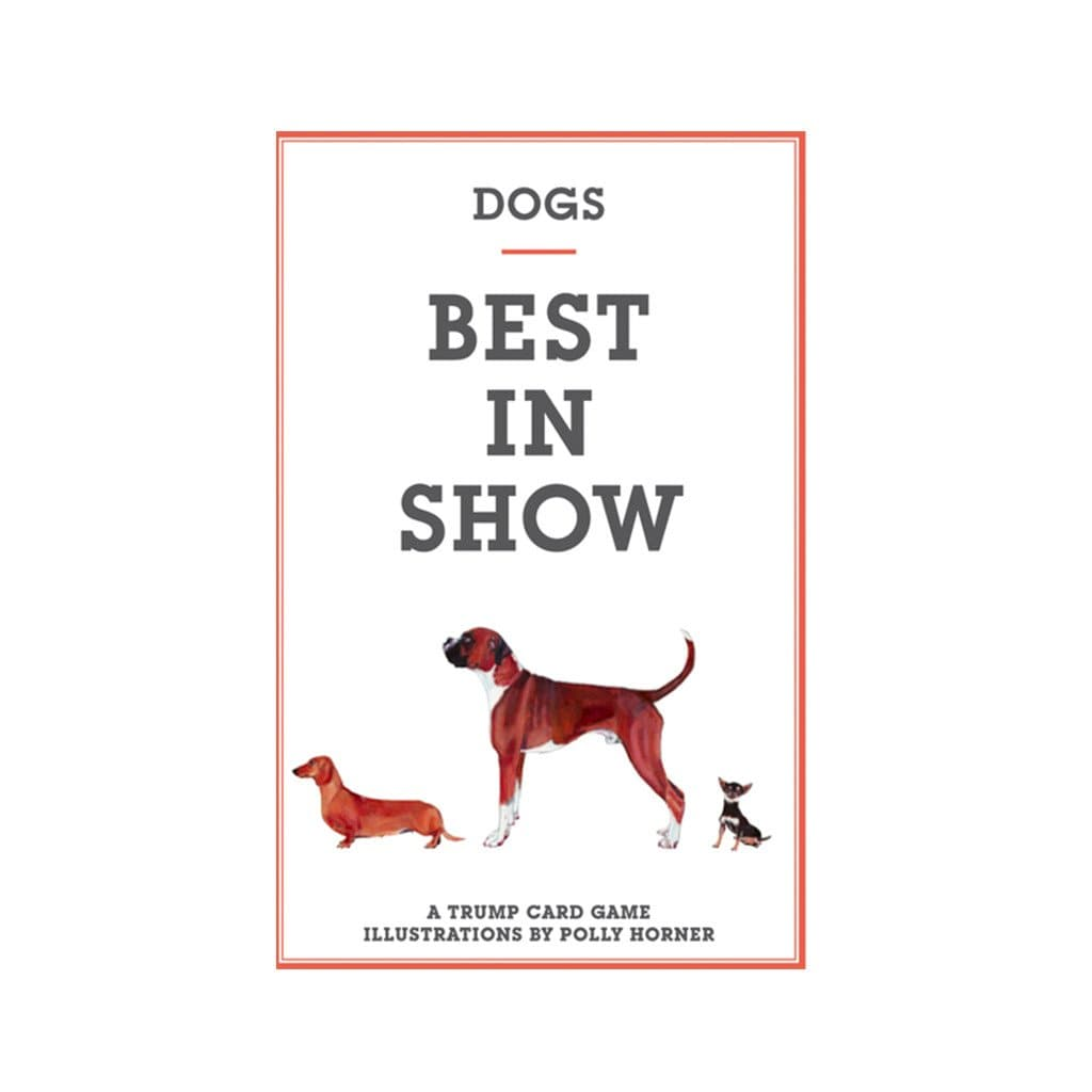 Dogs Best In Show Card Game