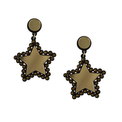 Lucky Star Earrings (Gold)