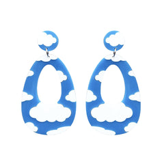 Cloud Dangler Earrings Jewellery - Earrings No Basic Bombshell for We Built This City 1