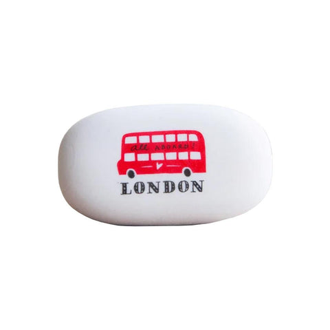 London Bus Eraser