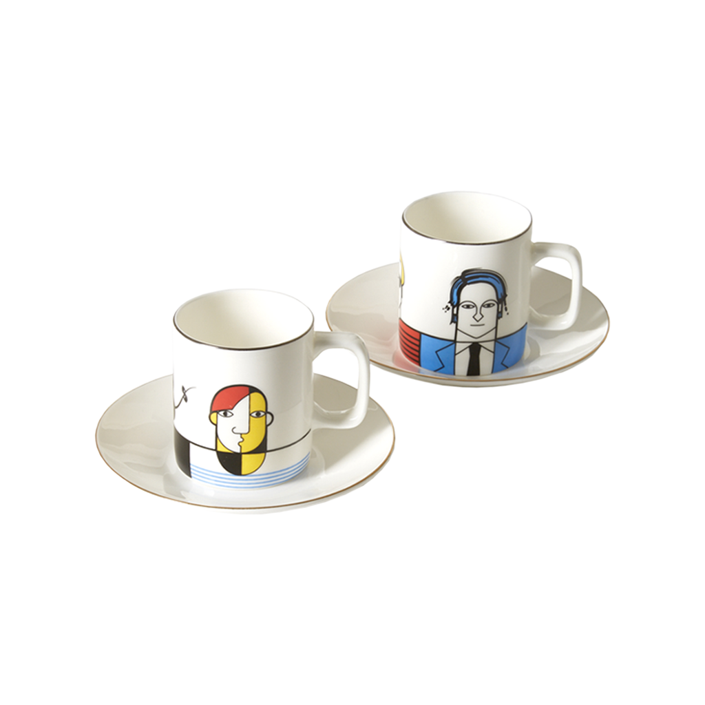 Great Modern Artists Espresso Set