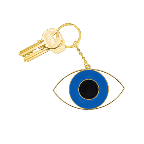 Oversized Eye Keyring