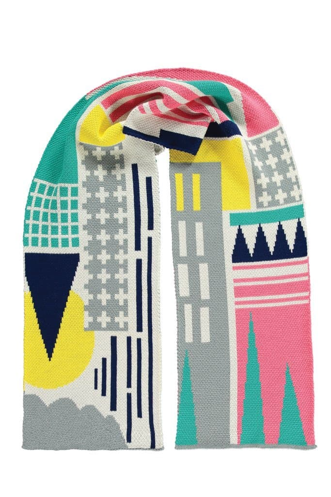 City Scarf Fashion - Scarves Miss Pom Pom for We Built This City 2
