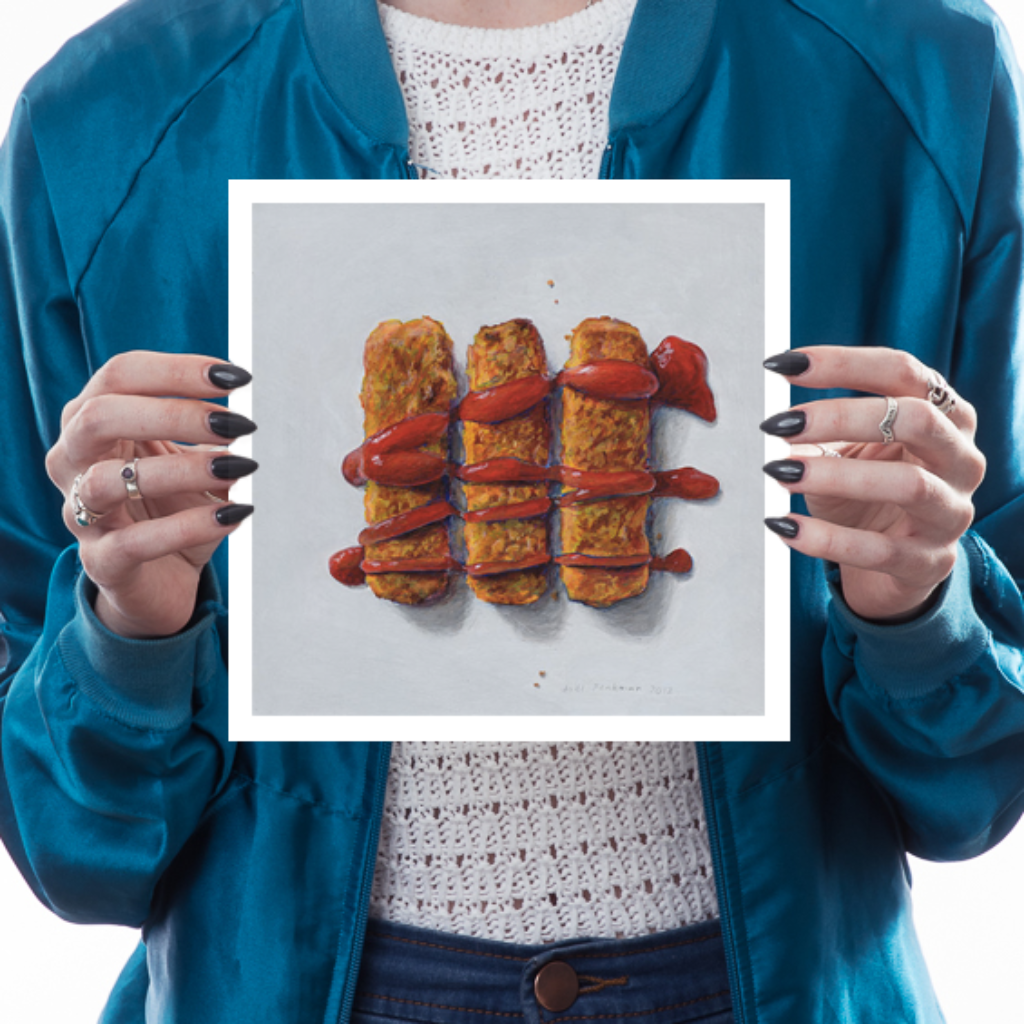 Fish Fingers Art Food and Drink Joel Penkman for We Built This City 1