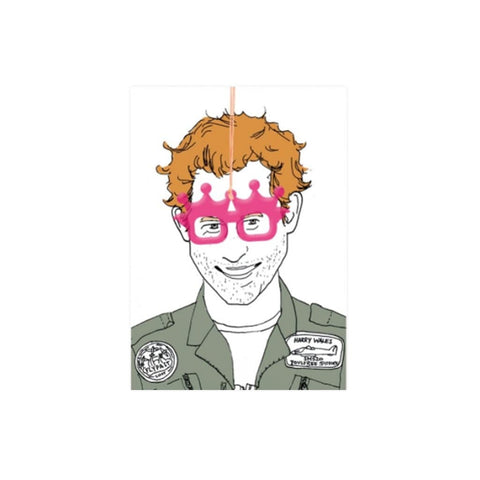 Prince Harry with Glasses card