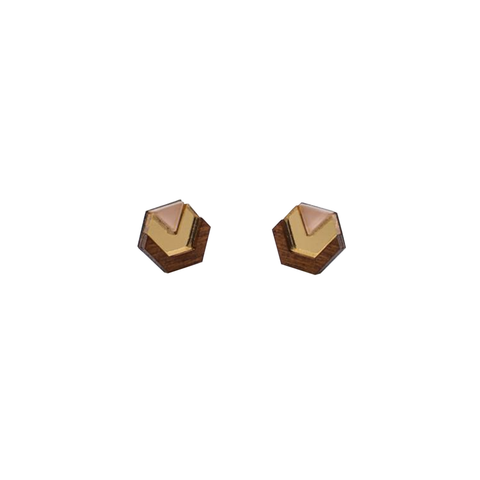 Little Hex Studs