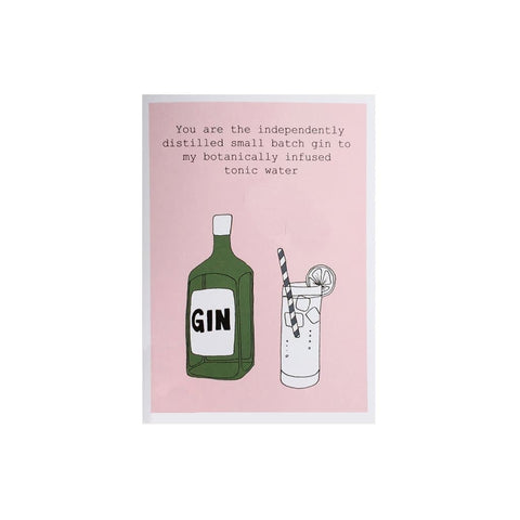 Independent Gin card