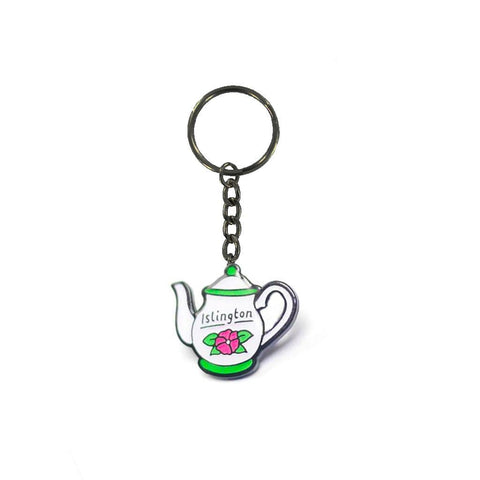 Islington Afternoon Tea Enamel Keyring