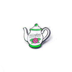 Islington Afternoon Tea Enamel Pin