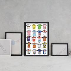 Cycling Jerseys Art Sport David Sparshott for We Built This City 3