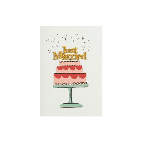 Just Married (card) - Petra Boase