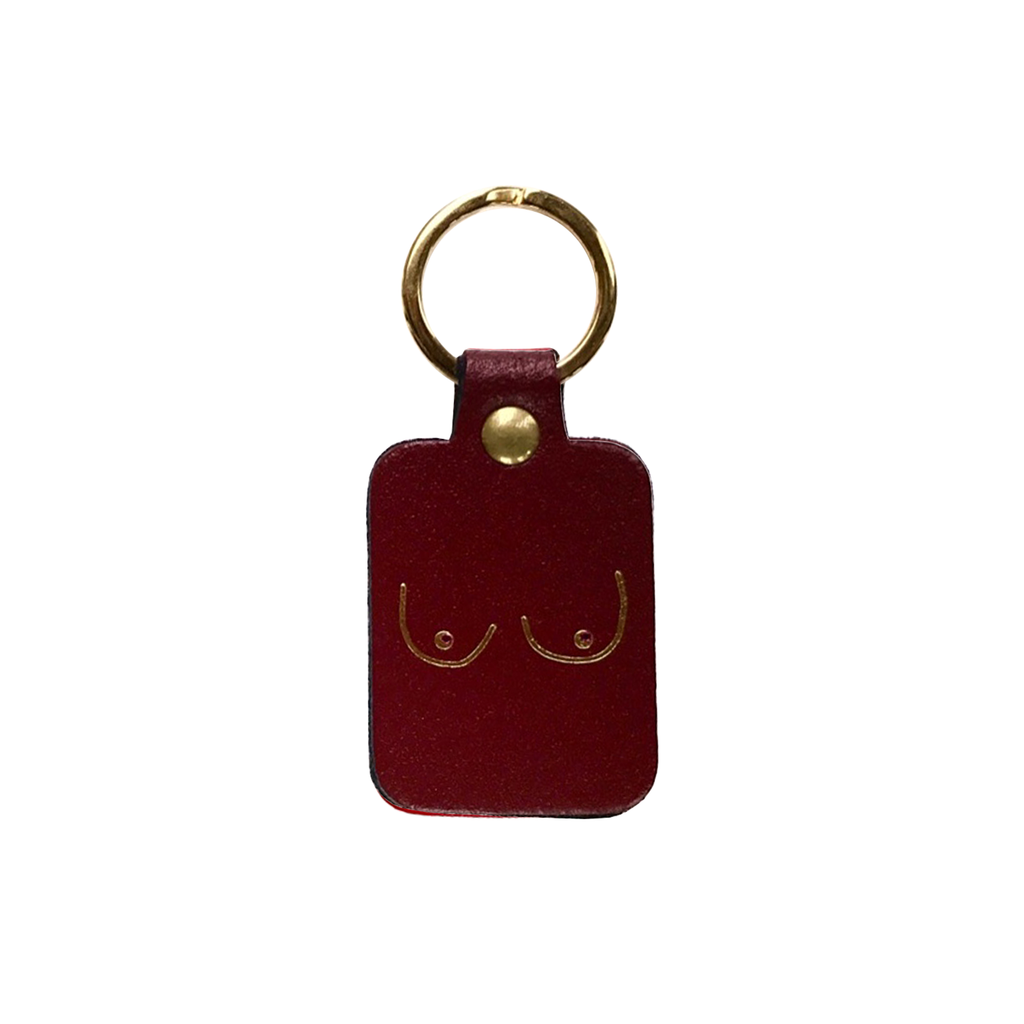 Boobs Key Fob