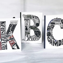 London Letters Map Cards Books LucyLovesThis for We Built This City 3