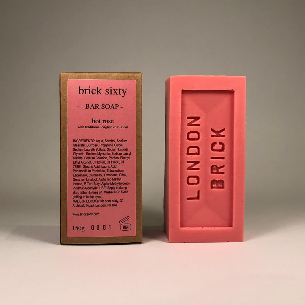 Brick Soap - Hot Rose