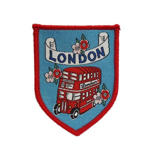 London Routemaster Patch Pins & Patches Rosie Wonders for We Built This City 1