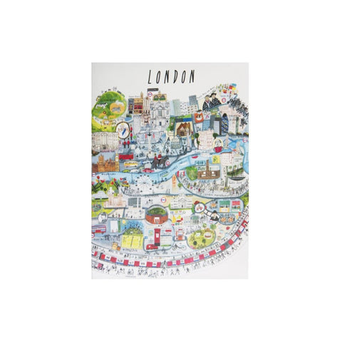 London Mapped Out Card - Couthie