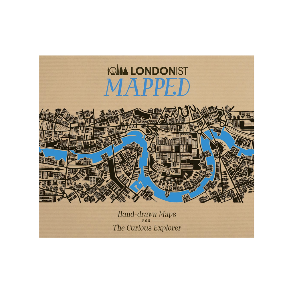 Londonist Mapped: Hand Drawn Maps for the Urban Explorer