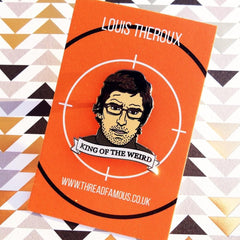 Louis Theroux Enamel Pin