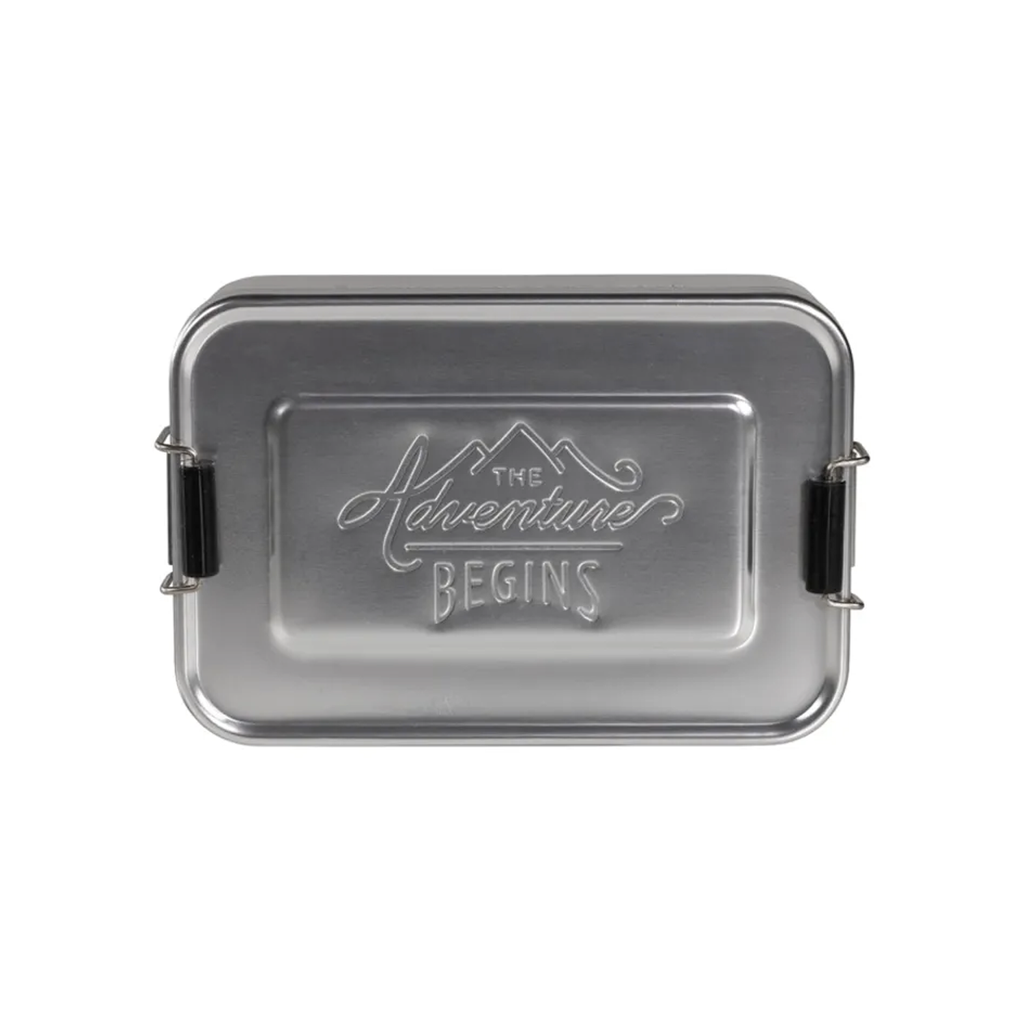 Silver Lunch Box
