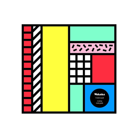 Camille Walala Tribal Pop Memo Pad