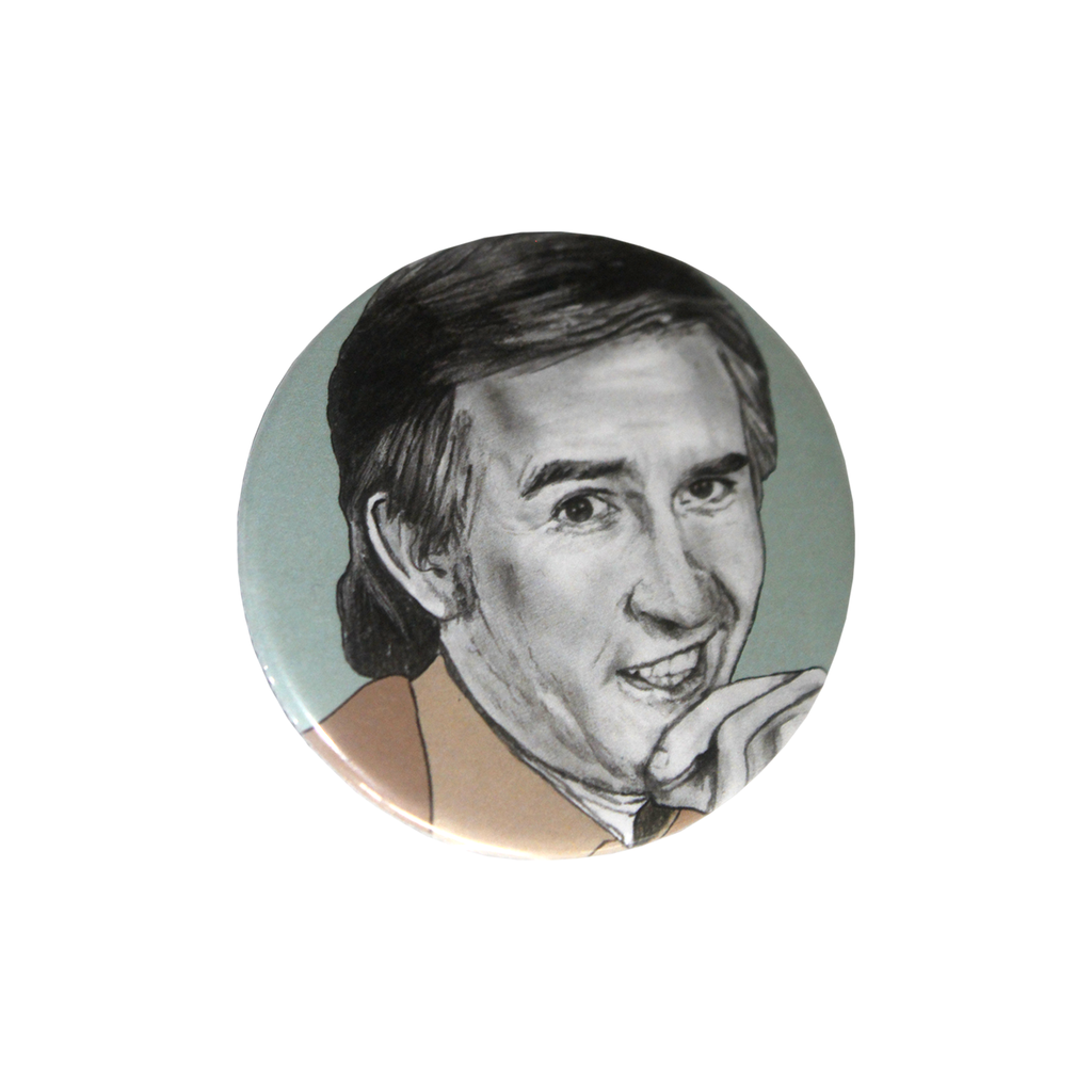 Alan Partridge Pocket Mirror Small Gifting Breton Mama for We Built This City 1