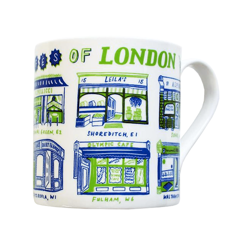 Classic Cafes of London Mug