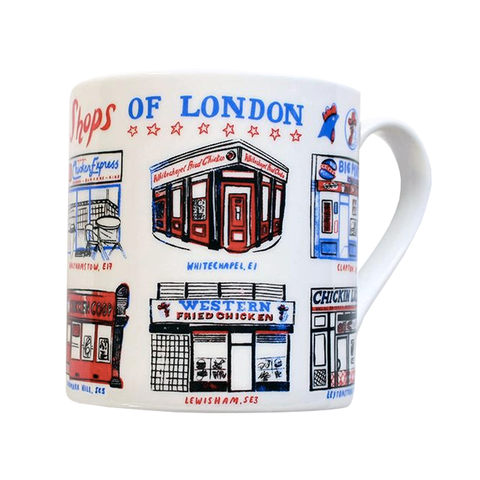 Chicken Shops of London Mug