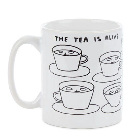 The Tea is Alive Mug