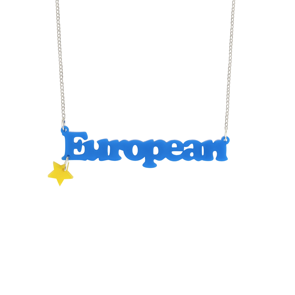 European Necklace Jewellery - Necklace Tatty Devine for We Built This City 1