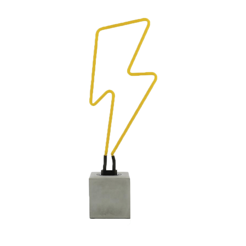Bolt Neon (Concrete Base)