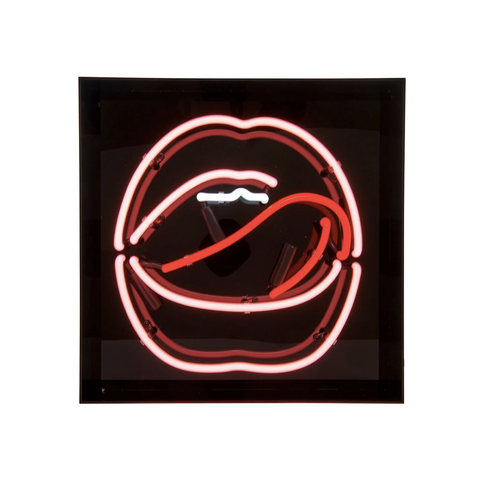 Mouth Neon (Acrylic Box)