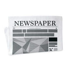Newspaper Tea Towel