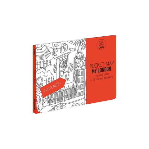 Colouring Pocket Map London