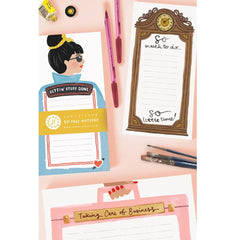 Taking Care of Business Briefcase Notepad Stationery & Craft - Notebooks Jade Fisher for We Built This City 2