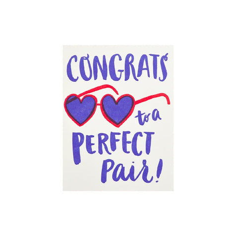 Perfect Pair Glasses card