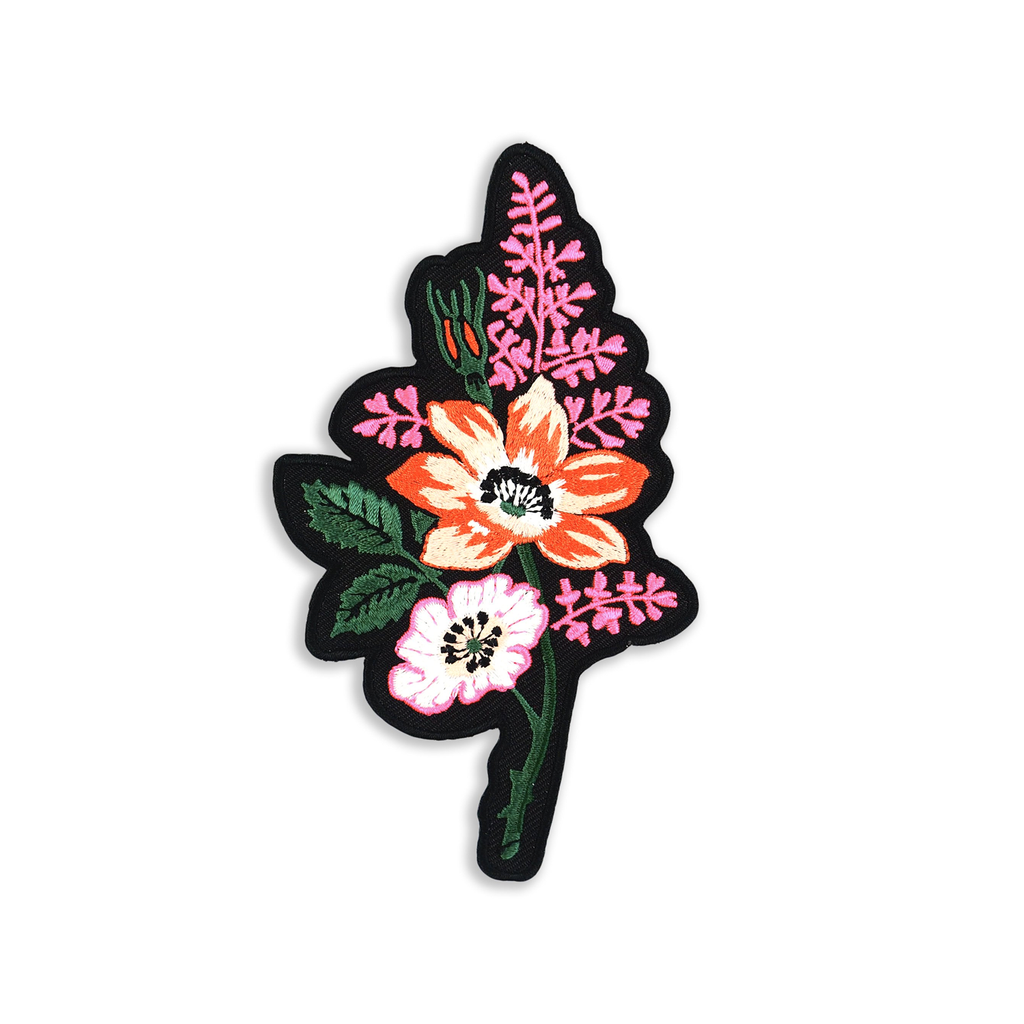 Flower Power - Iron on Patch