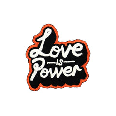 Love is Power - Iron on Patch