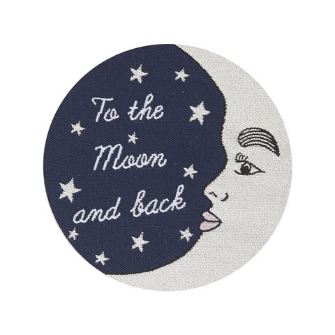 To The Moon and Back Embroidered Patch