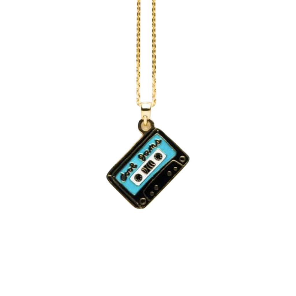 Cool Jams and Love Songs Pendant in Glass Bottle