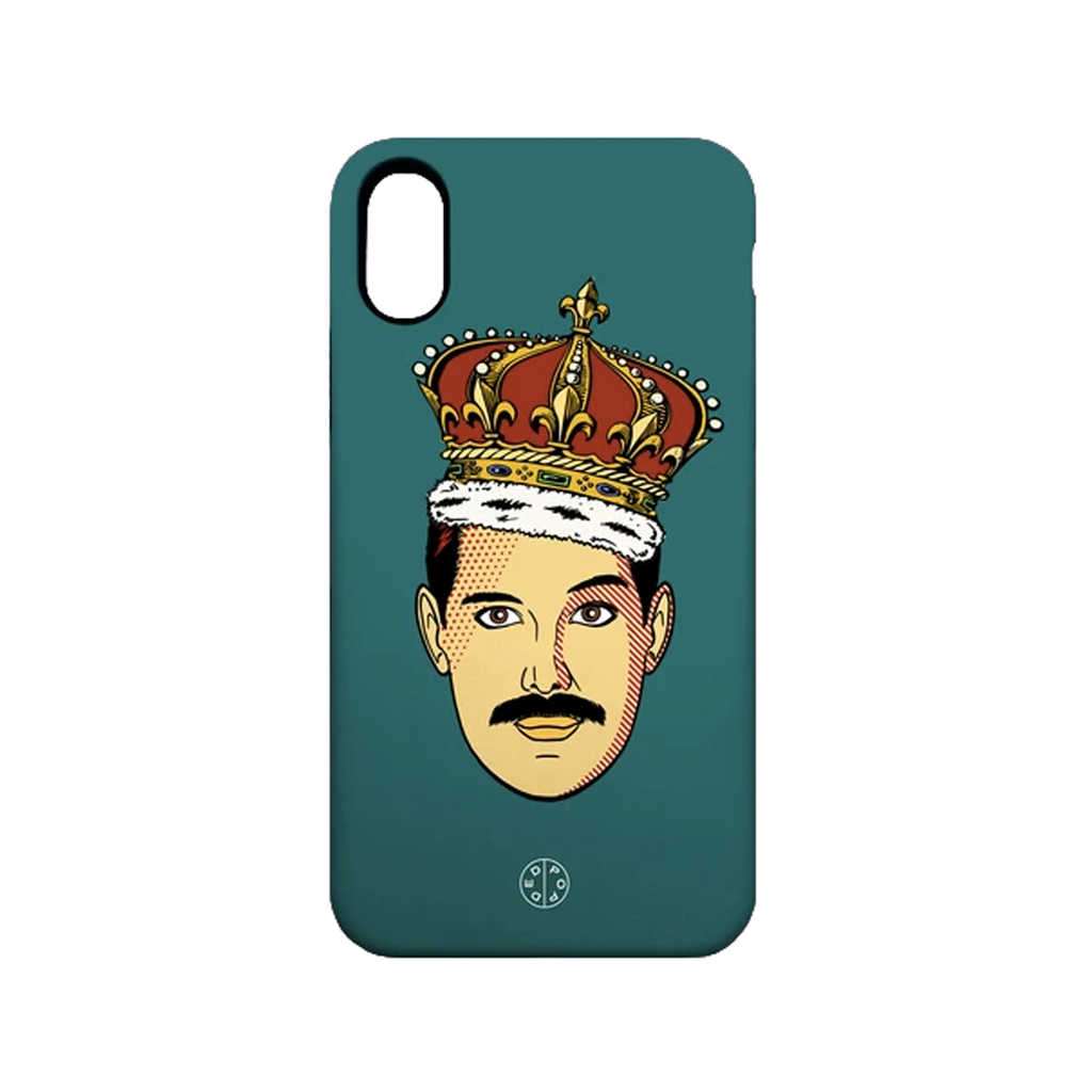 Freddie Homage Phone Case - iPhone X Fashion - Cases Ded Pop for We Built This City 1