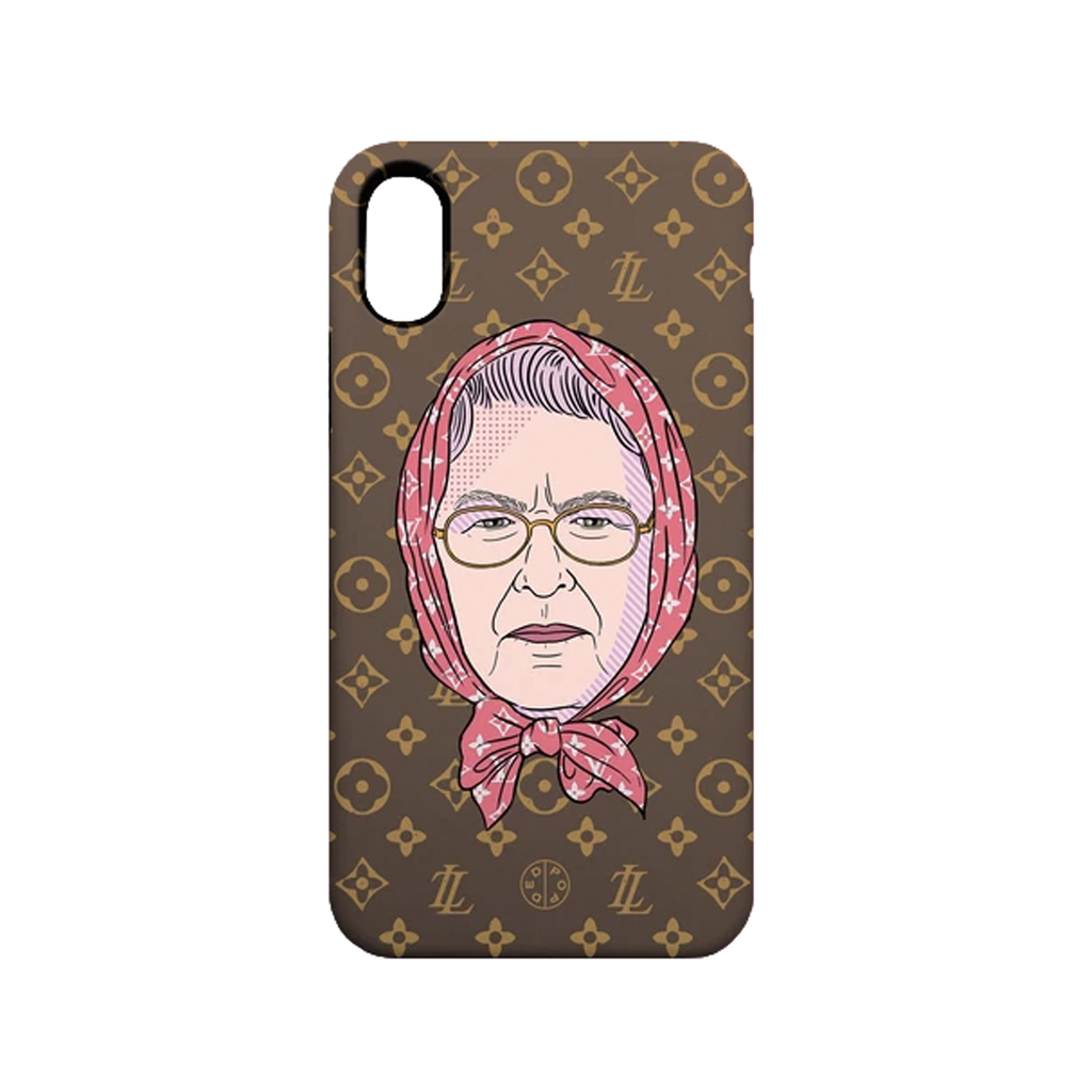 Queen Homage Phone Case - iPhone X