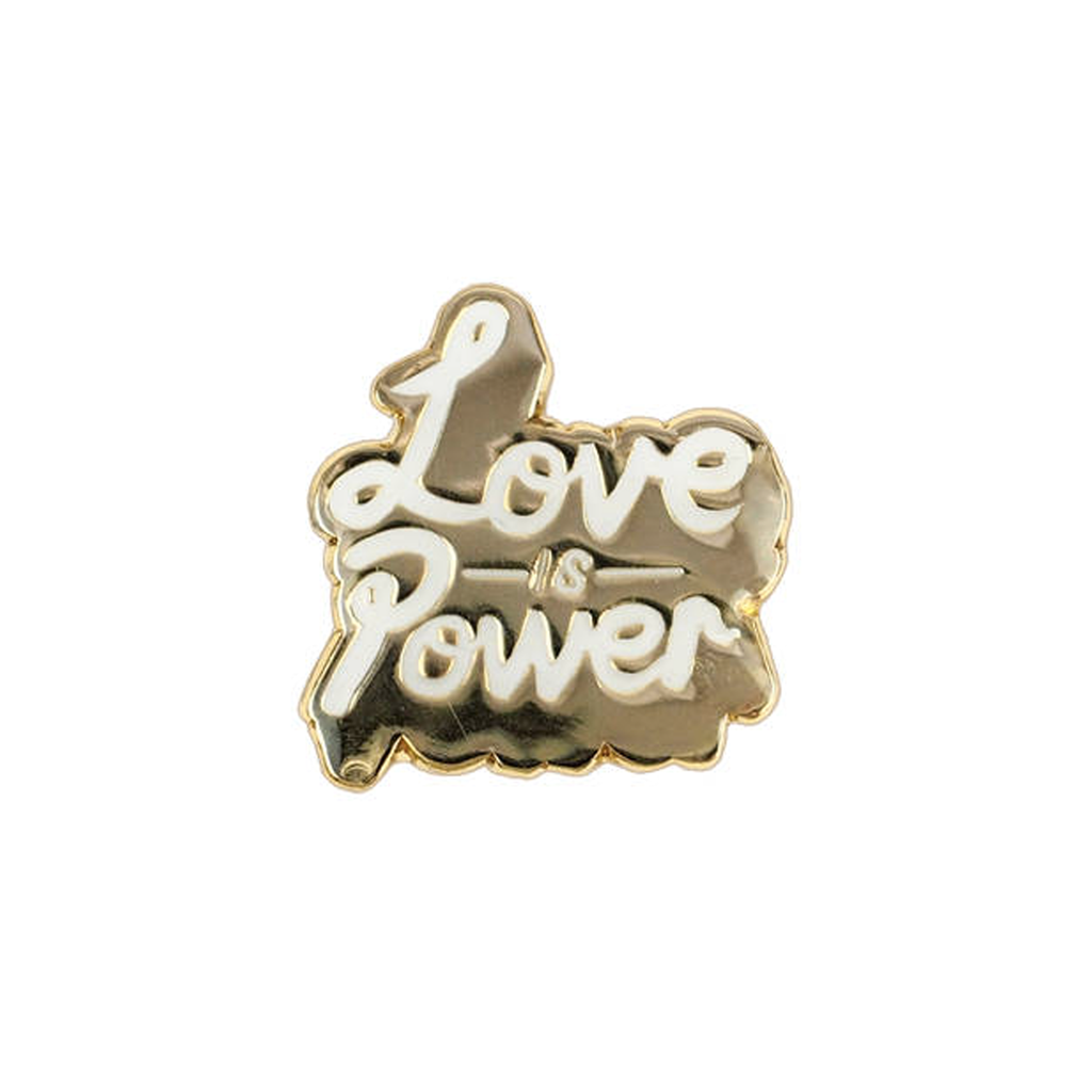 Love is Power Enamel Pin