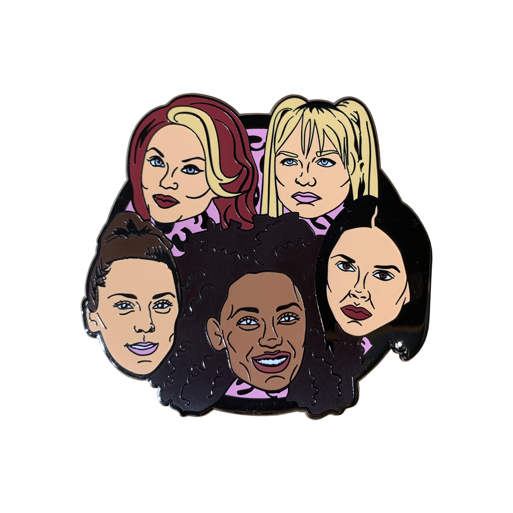 Spice Girls Enamel Pin General Thread Famous for We Built This City 1