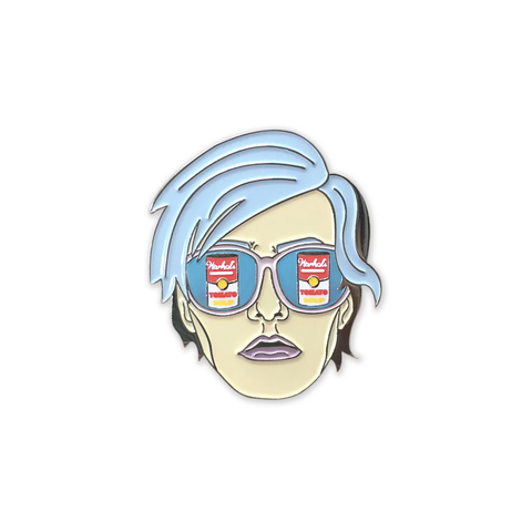 Andy Warhol Enamel Pin