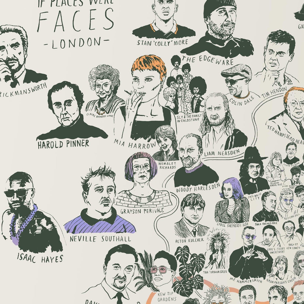 If Places Were Faces (12th Edition)