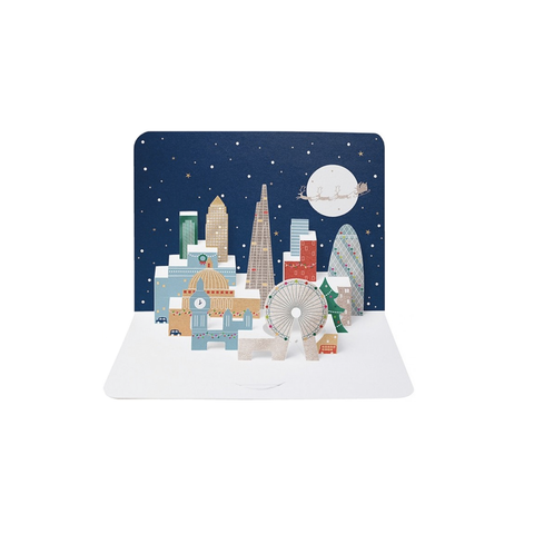 London Skyline *Christmas* (card) - The Art File