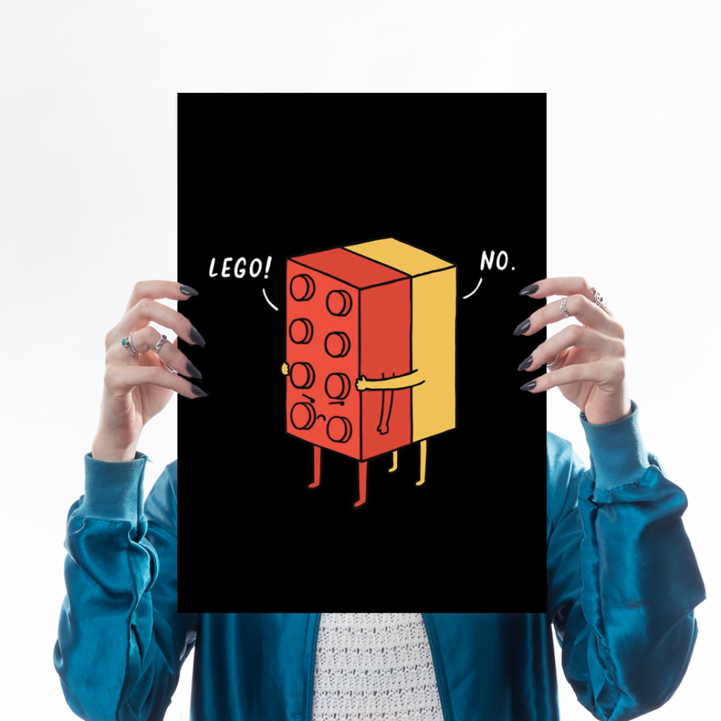 I'll Never Lego Art Humour Lim Heng Swee for We Built This City 1