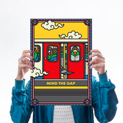 London Underground - Print Set Art Icons Season Of Victory for We Built This City 2