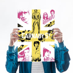 Carnaby Union (Fuchsia & Yellow) Art Culture Art & Hue for We Built This City 1